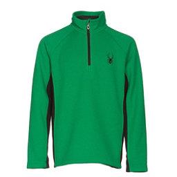 Spyder Outbound Mid Weight Kids Sweater, Jungle-Black, 256