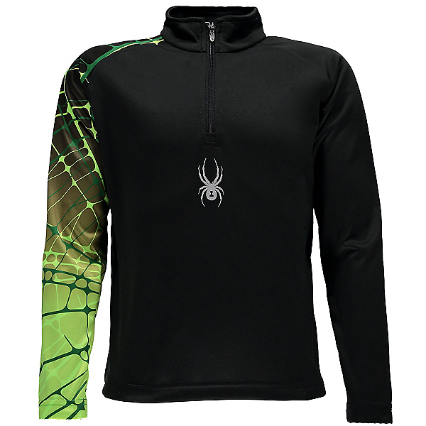 Spyder Linear WEB Dry T-Neck Kids Midlayer, , 600