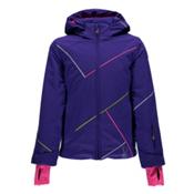 Spyder Tresh Girls Ski Jacket, Pixie-Bryte Bubblegum-Acid, medium