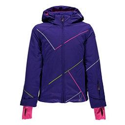Spyder Tresh Girls Ski Jacket, Pixie-Bryte Bubblegum-Acid, 256
