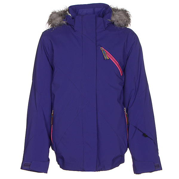 Spyder Lola Girls Ski Jacket, Pixie-Bryte Bubblegum, 600