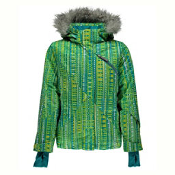Spyder Lola Girls Ski Jacket (Previous Season), Harmony Bluebird Print-Bluebird, 256