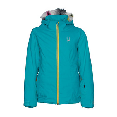 Spyder Eve Girls Ski Jacket, Bluebird-Acid, viewer