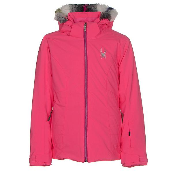 Spyder Eve Girls Ski Jacket, Bryte Bubblegum-Voila, 600