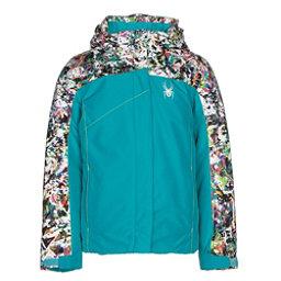 Spyder Dreamer Girls Ski Jacket, Bluebird-Kaleidoscope Print-Ac, 256