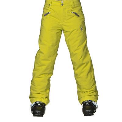 Spyder Vixen Athletic Girls Ski Pants, White, viewer