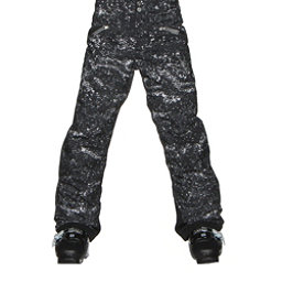 Spyder Vixen Athletic Girls Ski Pants (Previous Season), Sequins Black Print, 256