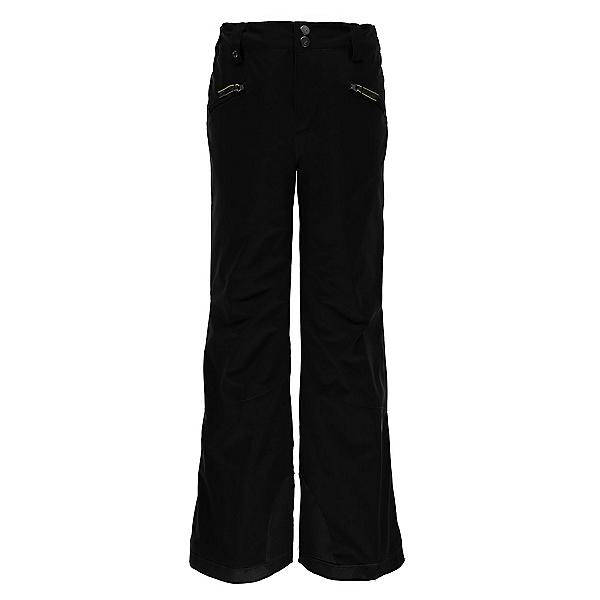 Spyder Vixen Athletic Girls Ski Pants, Black, 600