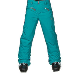 Spyder Vixen Athletic Girls Ski Pants, Bluebird, 256