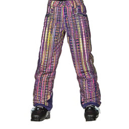 Spyder Vixen Athletic Girls Ski Pants, Harmony Acid Print, 256