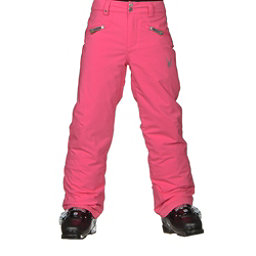Spyder Vixen Athletic Girls Ski Pants, Bryte Bubblegum, 256
