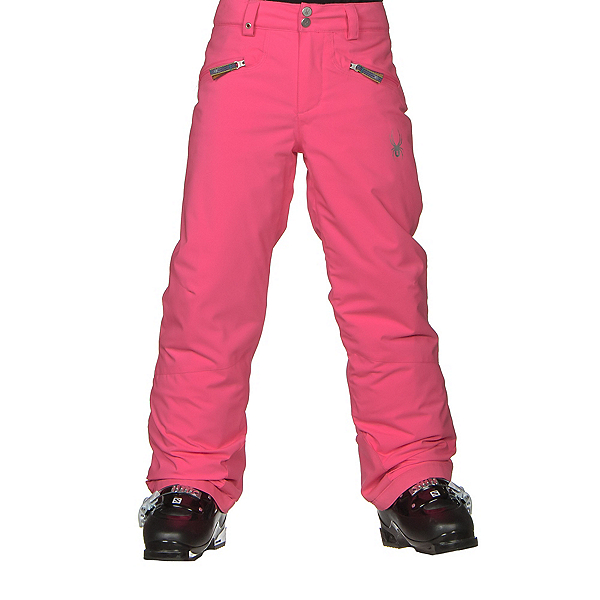 Spyder Vixen Athletic Girls Ski Pants (Previous Season), Bryte Bubblegum, 600
