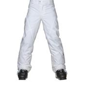 Spyder Mimi Girls Ski Pants, White, medium