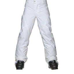 Spyder Mimi Girls Ski Pants (Previous Season), White, 256