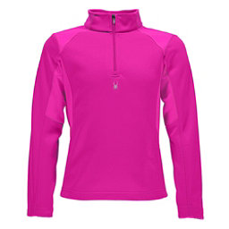 Spyder Savona Therma Stretch Kids Midlayer, Bryte Bubblegum-Bryte Bubblegum, 256