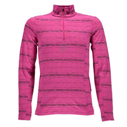 Spyder Bocca T-Neck Kids Midlayer, Bryte Bubblegum-Multi Color, 256