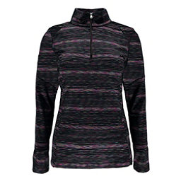 Spyder Bocca T-Neck Kids Midlayer, Black-Multi Color, 256