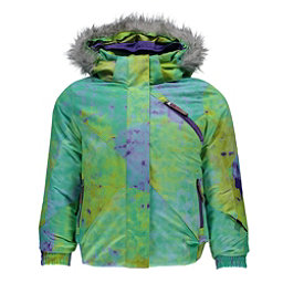 Spyder Bitsy Lola Toddler Girls Ski Jacket (Previous Season), Morning Sky Acid Print-Iris, 256