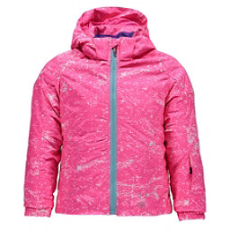 Spyder Bitsy Glam Toddler Girls Ski Jacket (Previous Season), Sequins Bryte Bubblegum Print-, 256