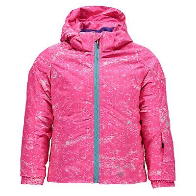 Spyder Bitsy Glam Toddler Girls Ski Jacket, Sequins Bryte Bubblegum Print-, viewer