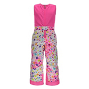 Spyder Bitsy Sweetart Toddler Girls Ski Pants, Party Multi Print-Bryte Bubblegum, medium