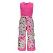 Spyder Bitsy Sweetart Toddler Girls Ski Pants, Party Multi Print-Bryte Bubblegum, medium