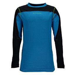 Spyder Havoc Long Sleeve Tech Kids Long Underwear Top, Concept Blue-Black, 256