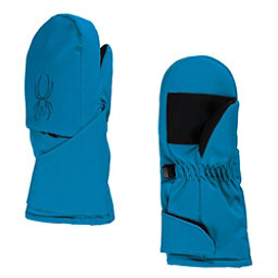 Spyder Mini Cubby Toddlers Mittens, Electric Blue-Black, 256