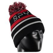 Spyder Icebox Kids Hat, Black-Red-Cirrus, medium