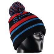 Spyder Icebox Kids Hat, Black-Rage-Electric Blue, medium