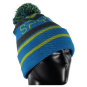 Spyder Icebox Kids Hat, Electric Blue-Polar-Sulfur, medium