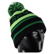 Spyder Icebox Kids Hat, Black-Bryte Green-Jungle, medium