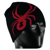 Spyder Reversible Bug Kids Hat, Black-Red, medium