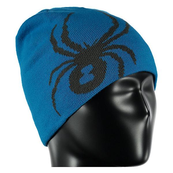 Spyder Reversible Bug Kids Hat, Electric Blue-Polar, 600