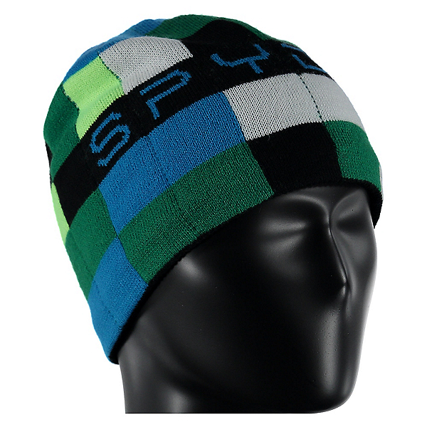 Spyder Mini Digital Toddlers Hat, Pixel Electric Blue Print, 600