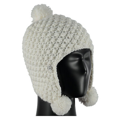 Spyder Bitsy Brrr Berry Toddlers Hat, White, viewer