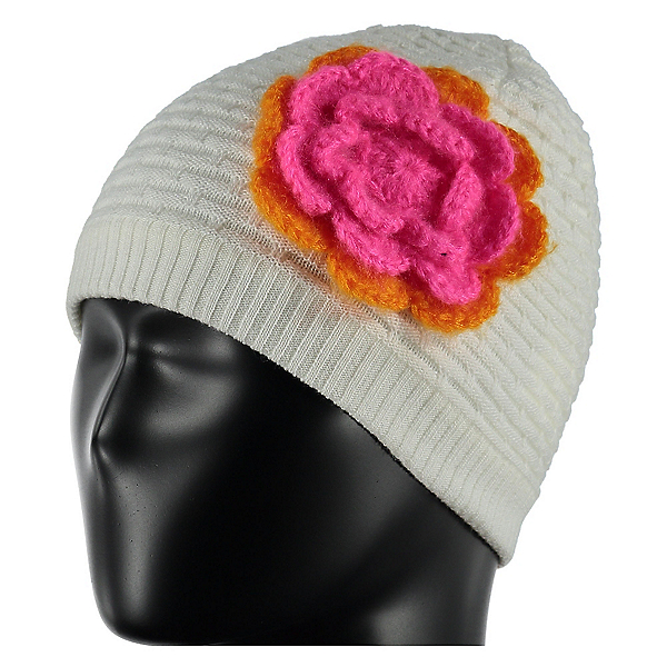 Spyder Bitsy Rosie Toddlers Hat, White-Edge-Bryte Bubblegum, 600