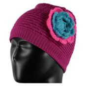 Spyder Bitsy Rosie Toddlers Hat, Voila-Bryte Bubblegum-Freeze, medium