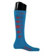 Spyder Bug Out Kids Ski Socks, Electric Blue-Rage, medium