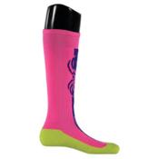 Spyder Swerve Girls Ski Socks, Bryte Bubblegum, medium