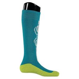 Spyder Swerve Girls Ski Socks, Bluebird, 256
