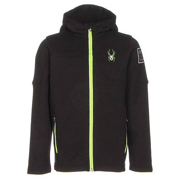 Spyder Upward Mid WT Kids Sweater, , 600