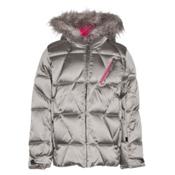 Spyder Hottie Girls Ski Jacket, Silver-Bryte Bubblegum, medium