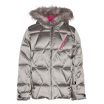 Spyder Hottie Girls Ski Jacket, Silver-Bryte Bubblegum, viewer