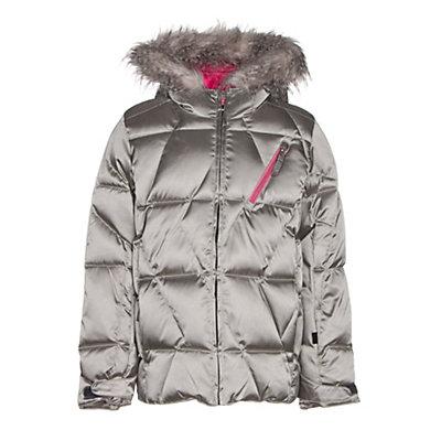Spyder Hottie Girls Ski Jacket, Silver-Bryte Bubblegum, viewer