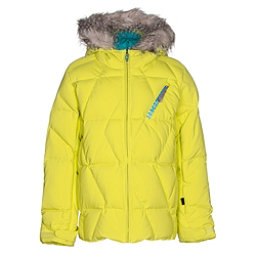 Spyder Hottie Girls Ski Jacket, Acid-Harmony Bluebird Print, 256