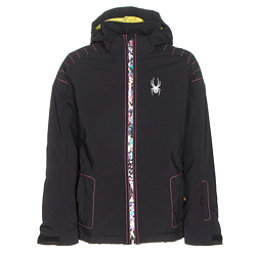 Spyder Glam Girls Ski Jacket (Previous Season), Black-Kaleidoscope White Print, 256