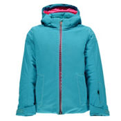 Spyder Glam Girls Ski Jacket, Bluebird-Harmony Bluebird Print, medium