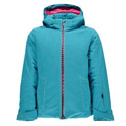 Spyder Glam Girls Ski Jacket, Bluebird-Harmony Bluebird Print, 256