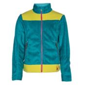 Spyder Core Caliper Girls Jacket, Bluebird-Acid-Voila, medium